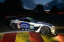 Blancpain GT Serien - Nahezu unverletzt: M�cke: Kurzer Auftritt in Spa