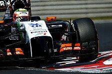 Formel 1 - Es k�nnte unberechenbar werden: Sergio Perez: Ich liebe Spa