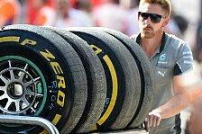 Formel 1 - Die Wahl fiel auf...: Pirelli nennt Reifenwahl f�r Japan & Russland