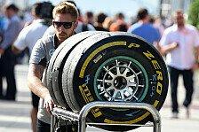Formel 1 - Start in zweite Saisonh�lfte : Spa ist Herausforderung f�r Pirelli