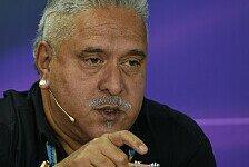 Formel 1 - Platz f�nf bei den Herstellern in Reichweite: Vijay Mallya: Es ist noch alles m�glich