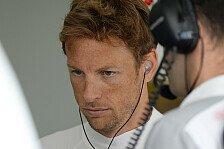Formel 1 - Podium ist unwahrscheinlich : Button mit Trainingsfreitag zufrieden