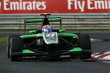 GP3 - Kirchh�fer nur Zehnter: Qualifying: Stanaway gewinnt Hundertstel-Kampf