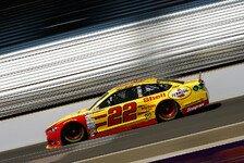 NASCAR - F�nf Fahrer mit drei Saisonsiegen: Logano gewinnt Bristol-Nachtrennen