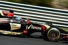 Formel 1 - Wieder Pech f�r Maldonado: Grosjean: Regen k�nnte Punkte bringen