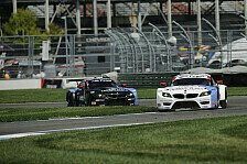 USCC - Podium verpasst: Indianapolis: BMW Team RLL auf Platz 6 und 7