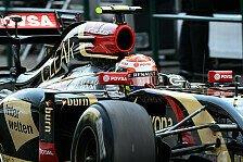 Formel 1 - Zu 99,9 Prozent sicher: Grosjean: 2015 ist mit Lotus zu rechnen