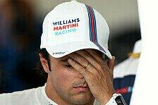 Formel 1 - Medium-Reifen zu langsam: Massa �rgert sich �ber Reifen-Strategie