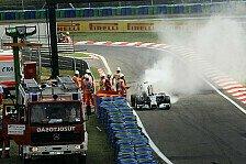 Formel 1 - N�chster Akt der Horror-Serie: Feuer bei Hamilton: Fr�hes Aus im Qualifying