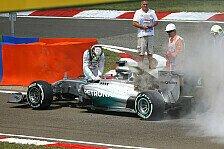 Formel 1 - Lewis w�re auf Pole gewesen: Johnny Herbert: Mercedes-Verschw�rung Schwachsinn