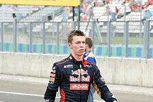 Formel 1 - Das Risiko kann nicht ausradiert werden: Kvyat: Mut in der F1 nach wie vor wichtig