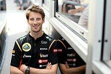 Formel 1 - �berholt werden ist kein sch�nes Gef�hl: Romain Grosjean: Wir wollten Weltmeister werden