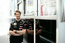 Formel 1 - Positiv in den zweiten Teil der Saison: Romain Grosjean: Das Pech zur�cklassen
