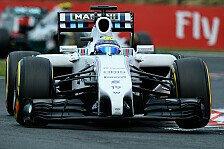 Formel 1 - Habe nicht das gleiche Auto wie mein Teamkollege: Massa entt�uscht: Unterboden �ndert alles