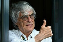 Formel 1 - Formel-1-Boss so lange wie m�glich: Ecclestone: War nie besorgt