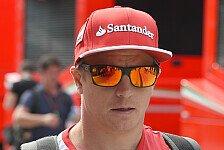 Formel 1 - Video: R�ikk�nen findet Geld im Fahrerlager