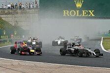Formel 1 - Der Regen, der nicht kam: Strategiedebakel bei McLaren