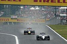 Formel 1 - Mercedes dominiert: Topspeeds in Budapest: Bottas Schnellster