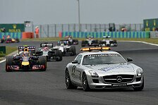 Formel 1 - Speedlimit bei Unf�llen: FIA testet in Austin virtuelles Safety Car
