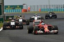 Formel 1 - Updates gefordert: Perez warnt: Force India verliert an Boden