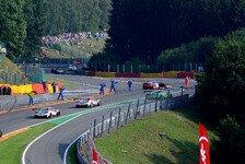 Blancpain GT Serien - In Flammen: Spa-Unfall: Ferrari-Pilot Mahy au�er Lebensgefahr