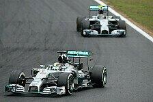Formel 1 - Hamilton schockiert: Stunk am Funk bei Mercedes
