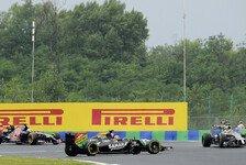 Formel 1 - Heftiger Unfall f�r Perez: Team-Crash: H�lkenbergs erste Nullrunde 2014