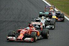 Formel 1 - Auto um 360 Grad drehen: Ferrari: 2. Pl�tze sind nicht der Anspruch