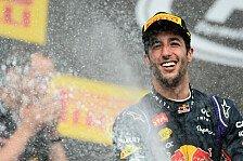 Formel 1 - Erstes Safety Car vorentscheidend: Ricciardo: Endlosparty nach zweitem Saisonsieg