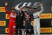 Formel 1 - Er macht einen fantastischen Job: Alonso: Ricciardo f�hrt Red Bull an