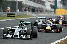 Formel 1 - Bilderserie: Ungarn GP - Statistiken zum Rennen