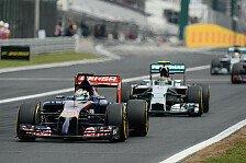 Formel 1 - Am Ende nur zwei Punkte in Ungarn: Vergne kurzfristig Zweiter: Ein sch�ner Moment
