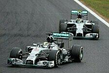 Formel 1 - Das verlor Rosberg wirklich hinter Hamilton: Hamilton vs. Rosberg in Ungarn: Die Analyse