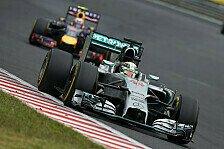 Formel 1 - Abstand ist signifikant: Mercedes-Jagd: Horner wenig zuversichtlich