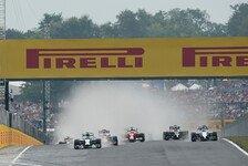 Formel 1: Ungarn-GP vor leeren Rängen