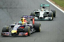 Formel 1 - Sieg sch�ner als in Kanada: Red Bull jubelt: Mercedes geschlagen