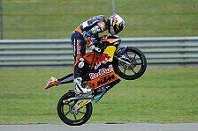 Moto3 - WM-Leader an der Spitze: 1. Training: Miller mit Bestzeit, Gr�nwald auf P4