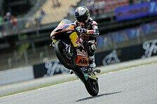 Moto3 - �ttl liegt in den Top-14: Miller legt im ersten Training vor