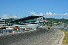 Formel 1 - Rennstrecke f�r GP-Deb�t ger�stet: Erfolgreiche Streckeninspektion in Sotschi