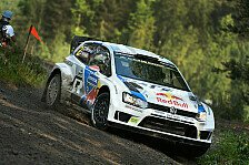 WRC - Alles oder nichts f�r Latvala: Finnland: Ogier er�ffnet die Jagd auf Latvala