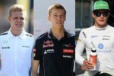 Formel 1 - Wie schlagen sich die Neulinge?: Zwischenbilanz: Die F1-Rookies im Check