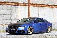 Auto - Das blaue Wunder: Audi: MR Racing stellt aufgepeppten A7 vor
