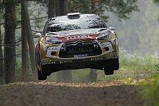 WRC - Hartes Duell zwischen Ogier und Latvala: Australien: Meeke f�hrt nach Tag 1