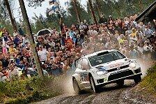 WRC - Drama um Kubica: Latvala behauptet die Spitze in Finnland