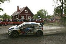 WRC - Hartes Duell um Rang zwei: Rallye Finnland: Latvala f�hrt, Ogier frustriert