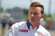WEC - Statt Nakajima: Conway startet f�r Toyota