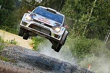 WRC - Ogier erobert Rang zwei zur�ck: Finnland: Latvala f�hrt sich frei