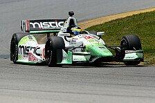 IndyCar - Der Knoten scheint geplatzt: Bourdais in Mid-Ohio wieder auf Pole