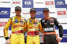 Formel 3 EM - Happy und auch etwas erleichtert: Vierter Saisonerfolg f�r den Briten Tom Blomqvist