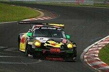 VLN - Reifensch�den verhindern Podestplatzierung: Haribo-Porsche auf Podestkurs gestoppt